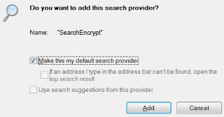 Install IE Search Engine